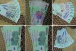 Bắt kẻ liều lĩnh trộn tiền thật với tiền âm phủ bán trên Facebook