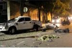 Ảnh hiện trường ô tô bán tải tông hàng loạt xe dừng đèn đỏ, nhiều người nằm la liệt trên phố Sài Gòn
