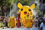 Lễ hội Pokemon độc đáo ở Nhật Bản, Pikachu tràn xuống đường