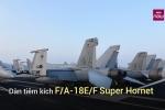 Video: Tận mắt ngắm dàn máy bay khủng trên USS Carl Vinson