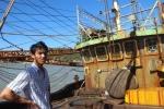 Tàu vỏ thép đắp chiếu ở Bình Định: Công ty đóng tàu dọa kiện Bộ Nông nghiệp và ngư dân