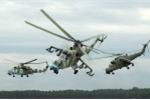 Trực thăng sát thủ của Nga chuẩn bị đến Syria diệt IS