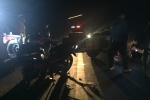 Xe công nông kéo lê xe máy, 2 người thương vong