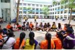 Học sinh TP.HCM trải nghiệm kĩ năng sống trong dịp hè