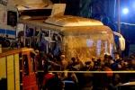 Đánh bom xe buýt chở du khách Việt ở Ai Cập: Khoảnh khắc tiếp cận hiện trường của phóng viên VOV