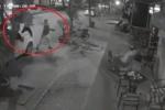 Công an điều tra nhóm thanh niên ném gạch, đá vỡ kính quán cà phê ở Hà Nội