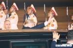 Toan canh le don long trong Tong thong Donald Trump tai Noi Bai hinh anh 6