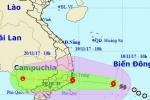 Hai trường hợp có thể xảy ra với cơn bão số 14 khi vào đất liền