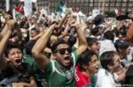 Ăn mừng bàn thắng quá 'sung', cổ động viên Mexico gây động đất ở quê nhà