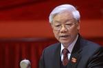 Giới thiệu Tổng Bí thư Nguyễn Phú Trọng bầu làm Chủ tịch nước là 'ý Đảng, lòng dân'