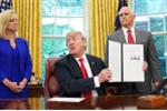 Sau khi đảo ngược chính sách nhập cư, Tổng thống Trump lại có đề xuất mới gây tranh cãi
