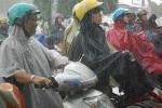 Không khí lạnh tiến sâu, các tỉnh miền Trung mưa to