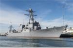 Sức mạnh các chiến hạm hộ tống tàu sân bay USS Carl Vinson tới thăm Việt Nam