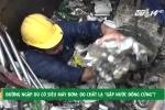 Đường ngập dù có siêu máy bơm: Do chất lạ 'gặp nước đông cứng'?