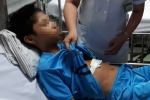 Mổ cấp cứu cho bé trai bị kim đâm trúng vào lồng ngực