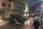 Hố 'tử thần' nuốt chửng xe cẩu cùng người và xe máy ở Quảng Ninh
