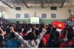ĐH Bách khoa Hà Nội tổ chức cho sinh viên xem trực tiếp bán kết Olympic Việt Nam và Hàn Quốc