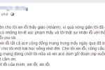 Xúc phạm thầy giáo vì chiếc quần short của con gái: Nữ phụ huynh xin lỗi trên Facebook