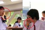 Cười té ghế với 'kỹ nghệ' ăn vụng trong lớp của học sinh Nhật