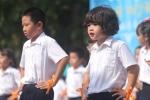 Ảnh: Ấn tượng với 'khai giảng xanh' của học sinh Hà Nội