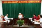 Ảnh: Tổng Bí thư, Chủ tịch nước Nguyễn Phú Trọng chủ trì họp lãnh đạo chủ chốt