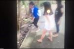Xôn xao clip 2 nữ sinh lớp 9 hành hung 1 nữ sinh lớp 7