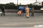 Xe tải tông 3 xe máy trên Quốc lộ 1A, 5 người thương vong