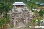 Cung điện thờ thiên trái phép ở Ba Vì: Thông tin mới nhất