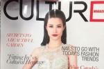 Đông Nhi xuất hiện nổi bật trên bìa tạp chí Canada