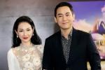 MC Quỳnh Chi diện váy xuyên thấu, tình tứ sánh đôi với Hứa Vĩ Văn