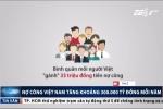 Video: Bình quân mỗi người Việt 'gánh' 33 triệu đồng nợ công