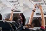 Video: Nữ hành khách thản nhiên hong khô quần lót trên máy bay
