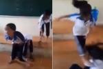 Nữ sinh lớp 7 bị 'đánh hội đồng' trên bục giảng: Do mâu thuẫn trên facebook