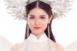 Á hậu Thùy Dung xinh đẹp trong trang phục dân tộc tại 'Hoa hậu Quốc tế'