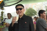 Cận cảnh bản sao Kim Jong-un xuất hiện ở Olympic Rio gây xôn xao