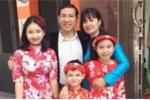 'Táo Kinh tế' Quang Thắng hạnh phúc bên vợ và ba con