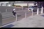 Được tài xế ô tô nhường đường, bé gái Nhật làm điều khiến ai cũng ngỡ ngàng