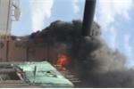 Cháy lớn ngay sát chợ hóa chất Kim Biên ở Sài Gòn