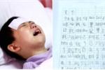 Lá thư xin dừng điều trị của bé gái nghèo mắc ung thư máu gây chấn động