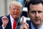 Tổng thống Mỹ Donald Trump từng muốn ám sát ông Bashar al-Assad?