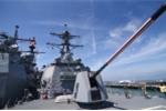 Cận cảnh hoả lực 2 tàu hộ tống USS Carl Vinson đang đậu ở cảng Tiên Sa, Đà Nẵng