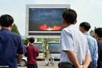 Dân Triều Tiên nghe tin vụ thử tên lửa sau cả thế giới