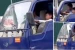 Bé trai 10 tuổi lái xe tải băng băng trên phố: Đề nghị xử lý nghiêm chủ xe