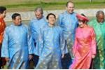 Ảnh: Nhìn lại trang phục truyền thống tại các kỳ APEC