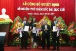 Đại học Huế có 2 tân phó giám đốc