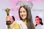 Giọng ca 'Sao Mai 2017' đăng quang Hoa hậu áo dài Việt Nam 2019