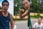 Xôn xao clip nghi nhóm thanh niên chặn đầu ô tô dọa tài xế, xin đểu ở Hà Nội