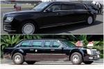 'Quái thú' của Tổng thống Trump đọ với 'siêu limo' của Tổng thống Putin tại Phần Lan