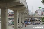 Cấm đường Cầu Giấy đi Xuân Thủy để thi công đường sắt trên cao Nhổn - ga Hà Nội