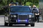 Xe limousine Cortege của Tổng thống Putin đến Phần Lan